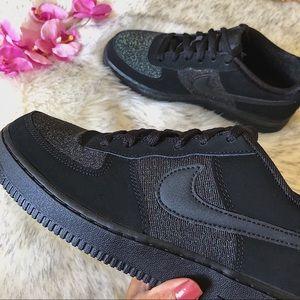 Nike Shoes - NWT🔥 Nike Air Force 1 LV8 Black Suede 6.5Y/8W